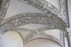Vaulted pintó el techo Imagen de archivo libre de regalías