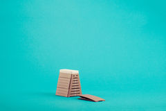 Vaulting box Royalty Free Stock Photography