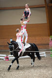 Vaulting competition final on June 18, 2017 in Pezinok, Slovakia Stock Image