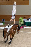 Vaulting competition final on June 18, 2017 in Pezinok, Slovakia Royalty Free Stock Photography
