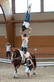 Vaulting competition final on June 18, 2017 in Pezinok, Slovakia Royalty Free Stock Photo