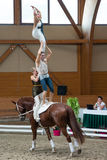 Vaulting competition final on June 18, 2017 in Pezinok, Slovakia Royalty Free Stock Photos