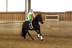 Vaulting exercise Royalty Free Stock Images