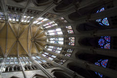 Vaults in the Apse of Beauvais Cathedral Stock Photography