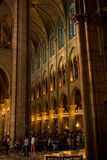 Vaults of Notre Dame Royalty Free Stock Image