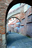 Vaults in Sibiu, European Capital of Culture for the year 2007 Royalty Free Stock Photos
