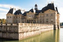 Vaux - le - Vicompte城堡 库存图片