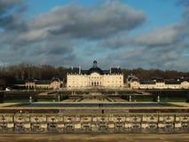 Vaux le Vicomte Дворец и сад Стоковые Фотографии RF
