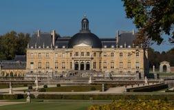 Vaux-le-Vicomte замок, около Парижа, Франция Стоковое фото RF
