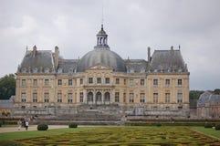 Vaux-le-Vicomte Fotografia de Stock