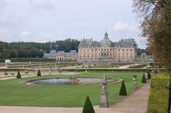 Vaux-le-Vicomte Royalty-vrije Stock Foto's