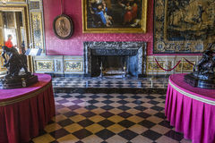 Vaux le vicomte castle, Maincy, France Royalty Free Stock Image