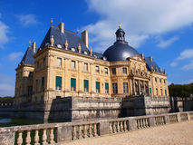 Vaux Le Vicomte, France, the castle near Paris. Vaux Le Vicomte, France,  summer, the castle near Paris Stock Photography