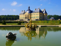 Vaux Le Vicomte, France, le château près de Paris Photo libre de droits