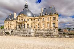 Vaux-le-Vicomte, France. Palace Stock Photos