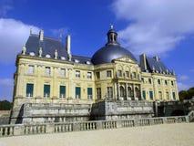 Vaux Le Vicomte, Francia, el castillo cerca de París Imagen de archivo libre de regalías