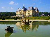 Vaux Le Vicomte, Frankrike, slotten nära Paris royaltyfri foto