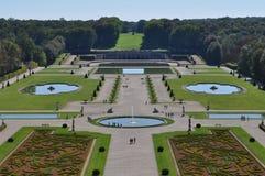 Vaux Le Vicomte garden Stock Photo