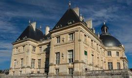 Vaux-le-Vicomte slotten, Frankrike Arkivfoton