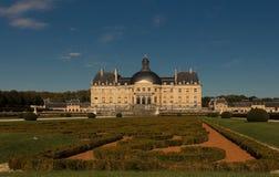 Vaux leVicomte castle,法国 免版税图库摄影