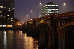 vauxhall 3 мостов Стоковое Фото