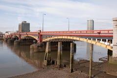 Vauxhall Brücke Lizenzfreies Stockfoto