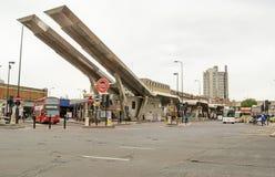 Vauxhall-Busbahnhof, London Lizenzfreie Stockfotografie