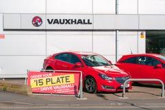 Vauxhall Car dealership Royalty Free Stock Images