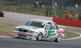 Vauxhall Cavalier, British Touring Cars Stock Images