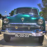 Vauxhall Cresta, HDR processed Stock Images