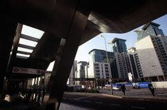 Vauxhall Cross Transport Interchange Royalty Free Stock Photos