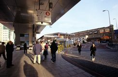 Vauxhall Cross Transport Interchange Stock Photography