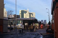 Vauxhall Cross Transport Interchange Stock Photo