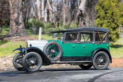 Vauxhall 1926 14/40 di berlina Immagini Stock