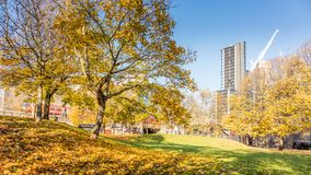 Vauxhall, Londres, Reino Unido; 17 de noviembre de 2017; Autumn Scene fotos de archivo libres de regalías