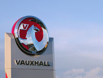 Vauxhall Motors Griffin Logo Royalty Free Stock Photography