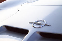 Vauxhall/Opel μπροστινό λογότυπο της GT Στοκ Φωτογραφία