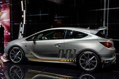 Vauxhall Opel på Genève 2014 Motorshow Royaltyfria Bilder