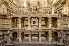 Vav Patan Gujarat del ki de Rani imagen de archivo