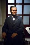 Vaxdiagram av Abraham Lincoln Arkivfoton
