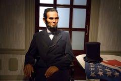 Vaxdiagram av Abraham Lincoln Royaltyfria Bilder
