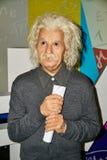 vaxdiagram av Albert Einstein, berömd fysiker royaltyfria bilder
