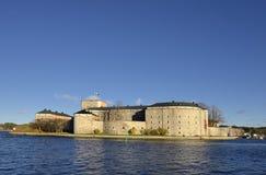 Vaxholm城堡 免版税库存图片
