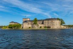 Vaxholm,瑞典堡垒  库存照片