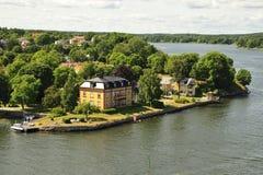 Vaxholm Photo libre de droits