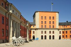 Vaxholm fortress Stock Photos