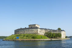 Vaxholm Fortress Stockholm archipelago Royalty Free Stock Photo