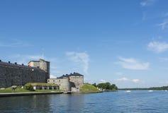 Vaxholm Fortress Stockholm archipelago stock photo