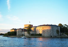 Vaxholm fortress Stock Photos