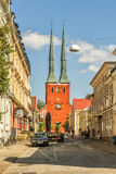 Vaxjo Cathedral Royalty Free Stock Images